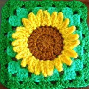 Cute Crochet Sunflower Pattern
