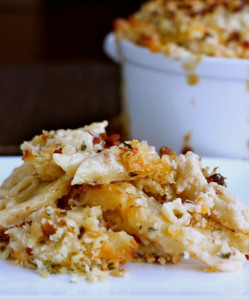 Comforting Bacon Mac and Cheese