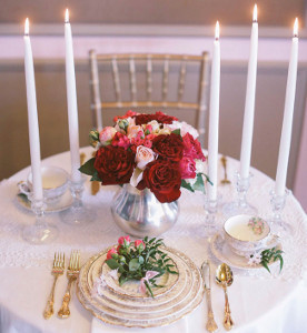 Fairytale Rose Centerpieces