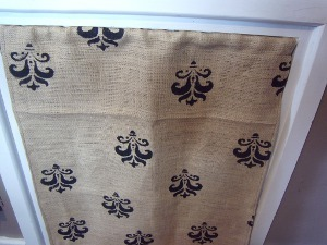 Super Stenciled DIY Curtains