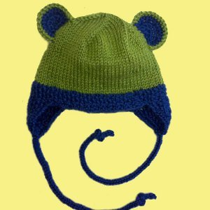 Cuddly Critter Earflap Hat