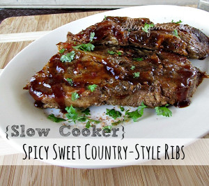 Spicy Sweet Country-Style Ribs