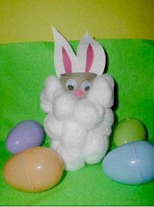 Easter Bunny Toilet Paper Roll Craft