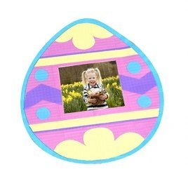 Easter Egg Duck Tape Picture Frame