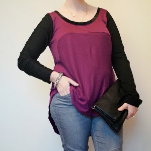 Flattering T-Shirt Refashion