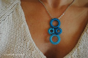 Glamour Girl Crochet Necklace