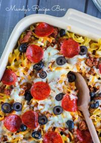 Pizza Noodle Casserole