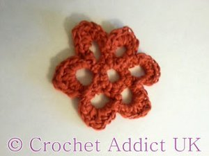 Butterfly Weed Crochet Flower