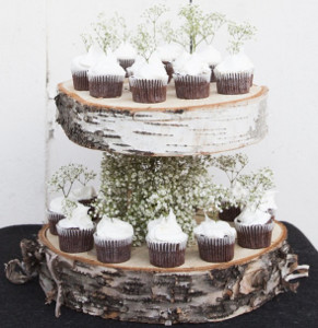 Floating Birch DIY Cake Stand