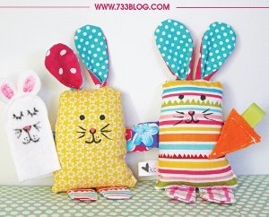 Scrappy Easter Bunny Crafts