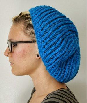 Spiral Lace Beanie | AllFreeKnitting.com