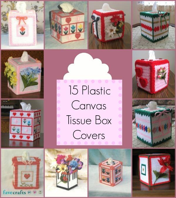 15 Plastic Canvas Tissue Box Covers Favecrafts Com