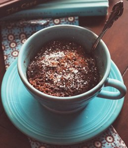 5-Minute Chocolate Cinnamon Mug Cake