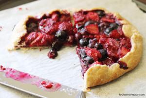 Mixed Berry Galette | FaveSouthernRecipes.com