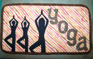 Calming Yoga DIY Mug Rug