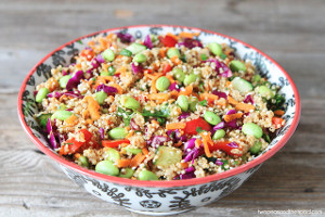 Healthy Asian Quinoa Salad