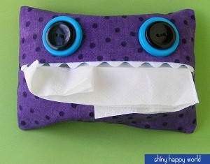 Sniffle Monster Tissue Pack