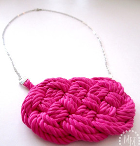 Bright Nautical Knot Necklace