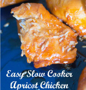 Four-Ingredient Apricot Chicken