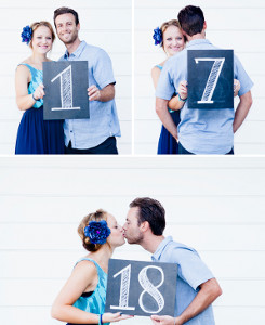 Adorably Personal Table Number Ideas