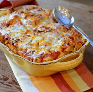 3-Ingredient Baked Pasta