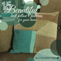15 Beautiful Knit Pillow Patterns for Your Home
