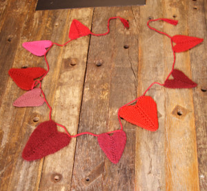Be Mine Heart Garland