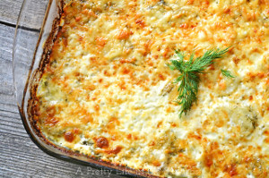 Dill Scalloped Potatoes