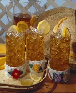 All Seasons Crocheted Drink Cozies