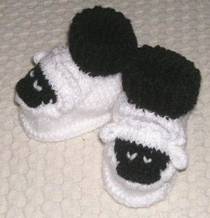 Little Sheep Booties