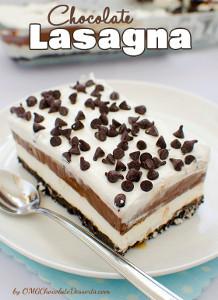 Ohmygosh Chocolate Quot Lasagna Quot Recipelion Com