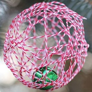Bell in a Ball Ornament