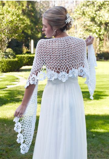 60+ Free Crochet Patterns: How to Crochet for a Wedding ... | 518x358