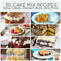 30 Cake Mix Recipes: Easy Cakes, Dessert Bars, and More