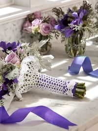 How to Wrap a Bouquet Crochet Pattern