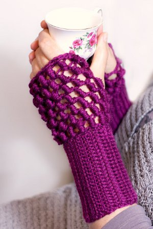 Crochet Hand Warmers Patterns