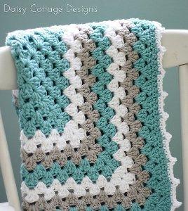 Calming Crochet Baby Blanket Allfreecrochet Com