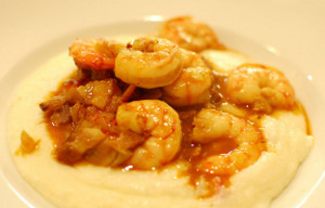 Dom's Magical Shrimp and Grits