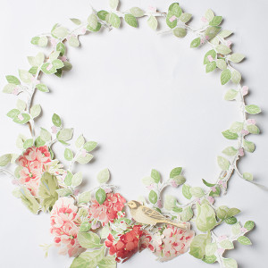 Spring Wallpaper Wreath