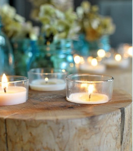 Hidden Treasures Rustic Wedding Centerpieces