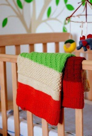 Seven Stitch Baby Blanket