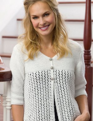 Angel Lace Cardigan Pattern