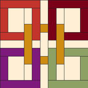 Celtic Squares Block