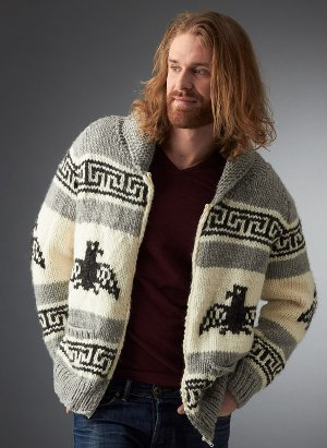 Mens Cowichan Cardigan Pattern