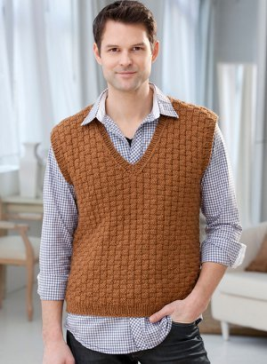Classic Men's Vest Knitting Pattern