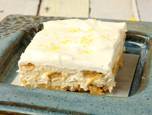 Luscious No-Bake Lemon Cheesecake Bars