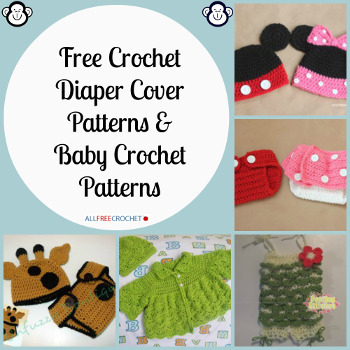 20 Free Crochet Diaper Cover Patterns and Baby Crochet Patterns