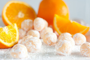 Orange Creamsicle Balls