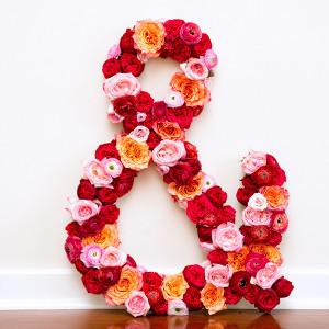 Flower Muse Ampersand