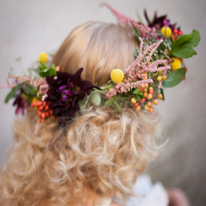 Greek Goddess Flower Crown